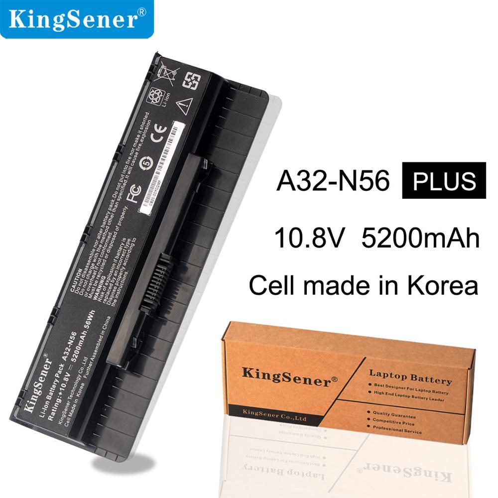 Kingsene A32-N56 A31-N56 A33-N56 Laptop Battery  For Asus N56 N56D N56DY N56J N56VM N56VZ N56JN N56JR N56VB N46VM N46V N76VJ N76Kingsene A32-N56 A31-N56 A33-N56 Laptop Battery  For Asus N56 N56D N56DY N56J N56VM N56VZ N56JN N56JR N56VB N46VM N46V N76VJ N76