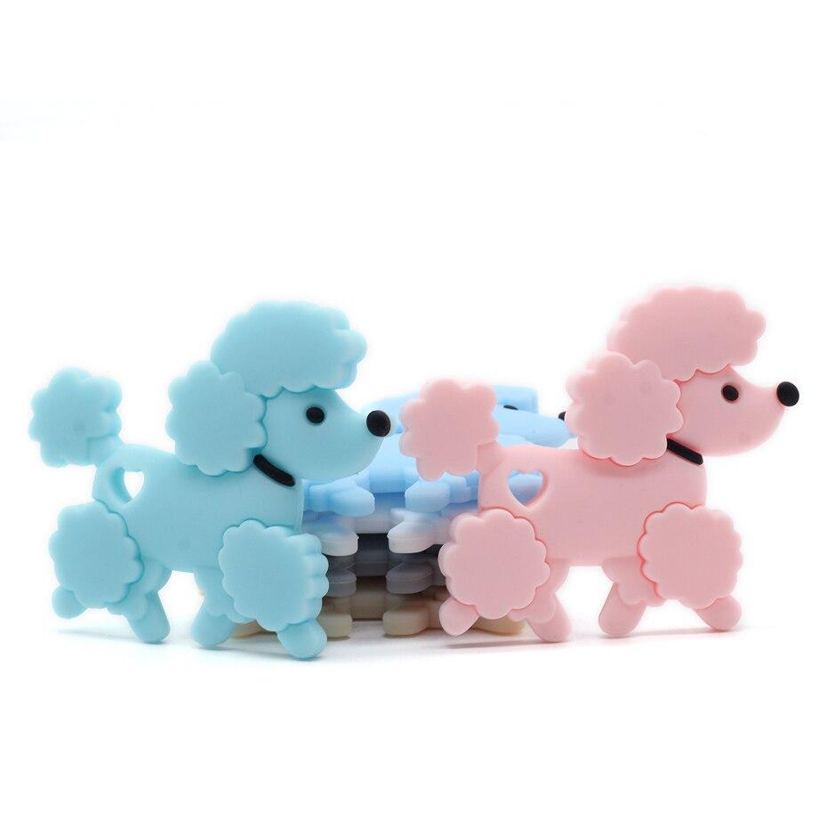 Begeistert 1 Pc Silikon Nagetier Hund Anhänger Nette Form Cartoon Tiere Zahnen Food Grade Silikon Beißring Tiny Stange Baby Beißringe Kinder Spielzeug Verkaufsrabatt 50-70%