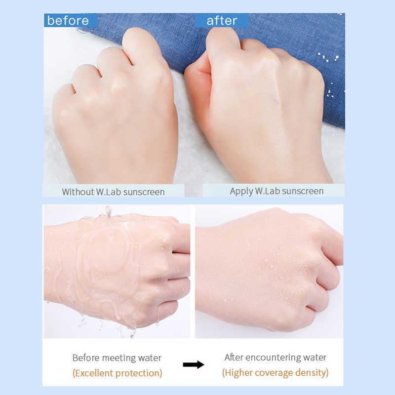 Korean cosmetics Wlab facial sunblock aqua face sunscreen cream ...