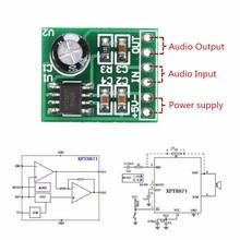 Cliateミニシングルチャンネルモノラルデジタルアンプモジュールデジタルオーディオアンプボードサウンドトラックdc 5v 1A 5ワット