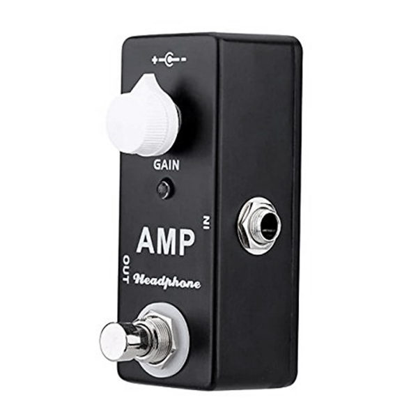 bmdt mosky amp headphone mini guitar effect pedal with single knob controls true bypass in. Black Bedroom Furniture Sets. Home Design Ideas