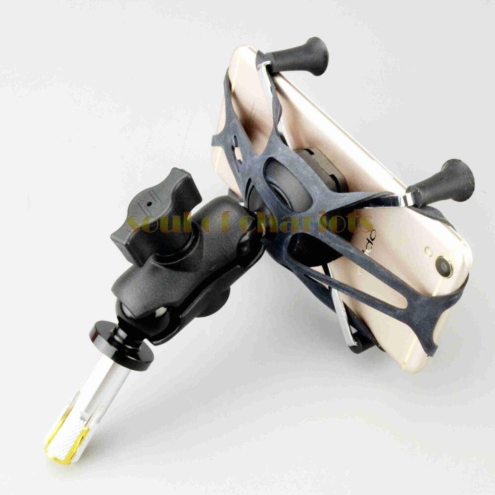X-Grip Phone Holder Para HONDA CBR250R CBR300R CBR400R 16 CBR500R 2010-2018 Acessórios Da Motocicleta Suporte de Navegação GPS -19mm