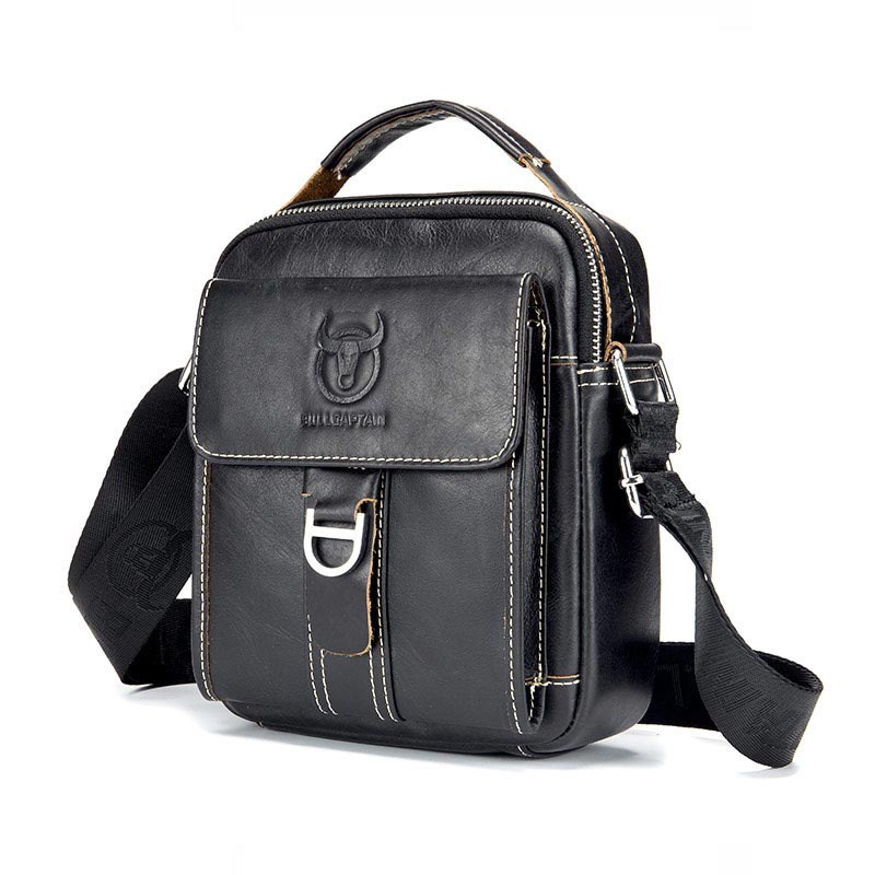BULLCAPTAIN Men Brand Men's Shoulder Bag Classic Vintage Bag Style Casual Men's Messenger Bags Promotion Male Crossbody Bag