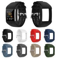 Neueste Komfortable Silikon Ersatz Uhr Band Handgelenk Gurt für Polar M600 Smart Uhr Armband Strap #25-in Cleveres Zubehör aus Verbraucherelektronik bei