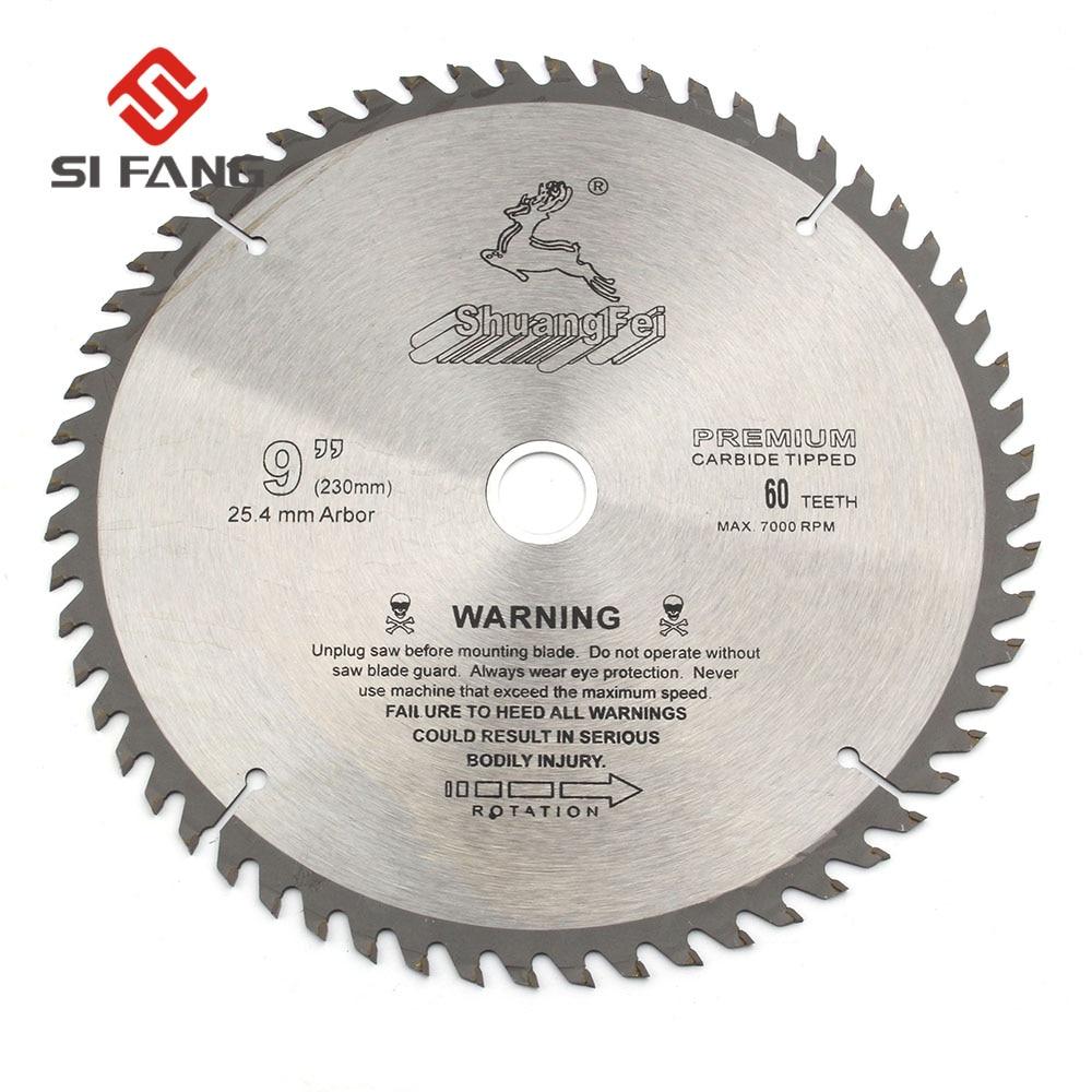 """9/"""" Inch Wood Cutting 60Teeth Saw Blade Circular Saw Blade High Quality"""
