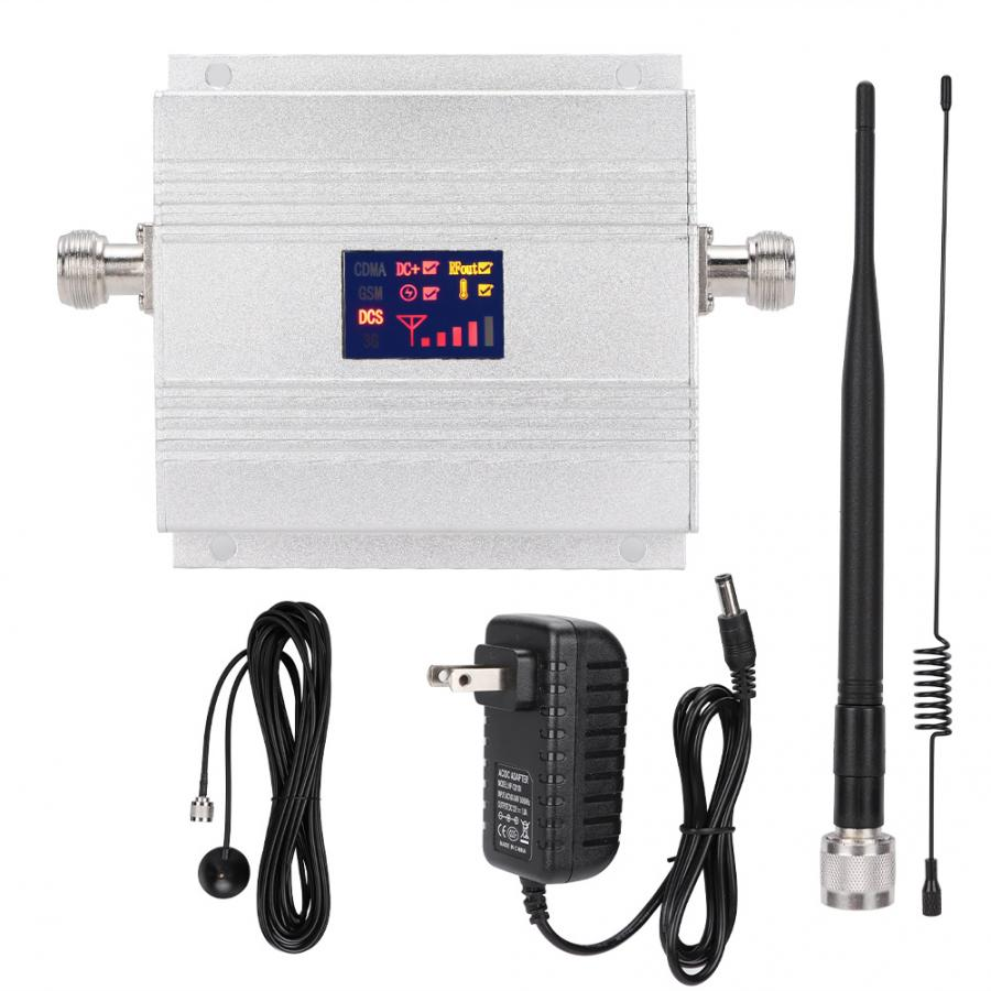 DCS 980C 1800MHz LCD Mobile Phone Signal Amplifier Repeater + Antenna US Plug High QulaityDCS 980C 1800MHz LCD Mobile Phone Signal Amplifier Repeater + Antenna US Plug High Qulaity