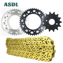 520 14T 43T Motorcycle Motor Transmission Drive Chain and front rear sprocket set for HONDA CR500 CR 500 1988 1989 1990 - 2001 cvgaudio m 43t