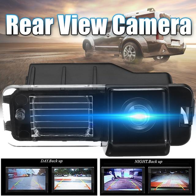 كاميرا احتياطية للسيارة الخلفية من Kroak كاميرا احتياطية للسيارة لسيارات Volkswagen Polo لسيارات VW V Golf 6 Passat CC 2008 2014 للرؤية الليلية