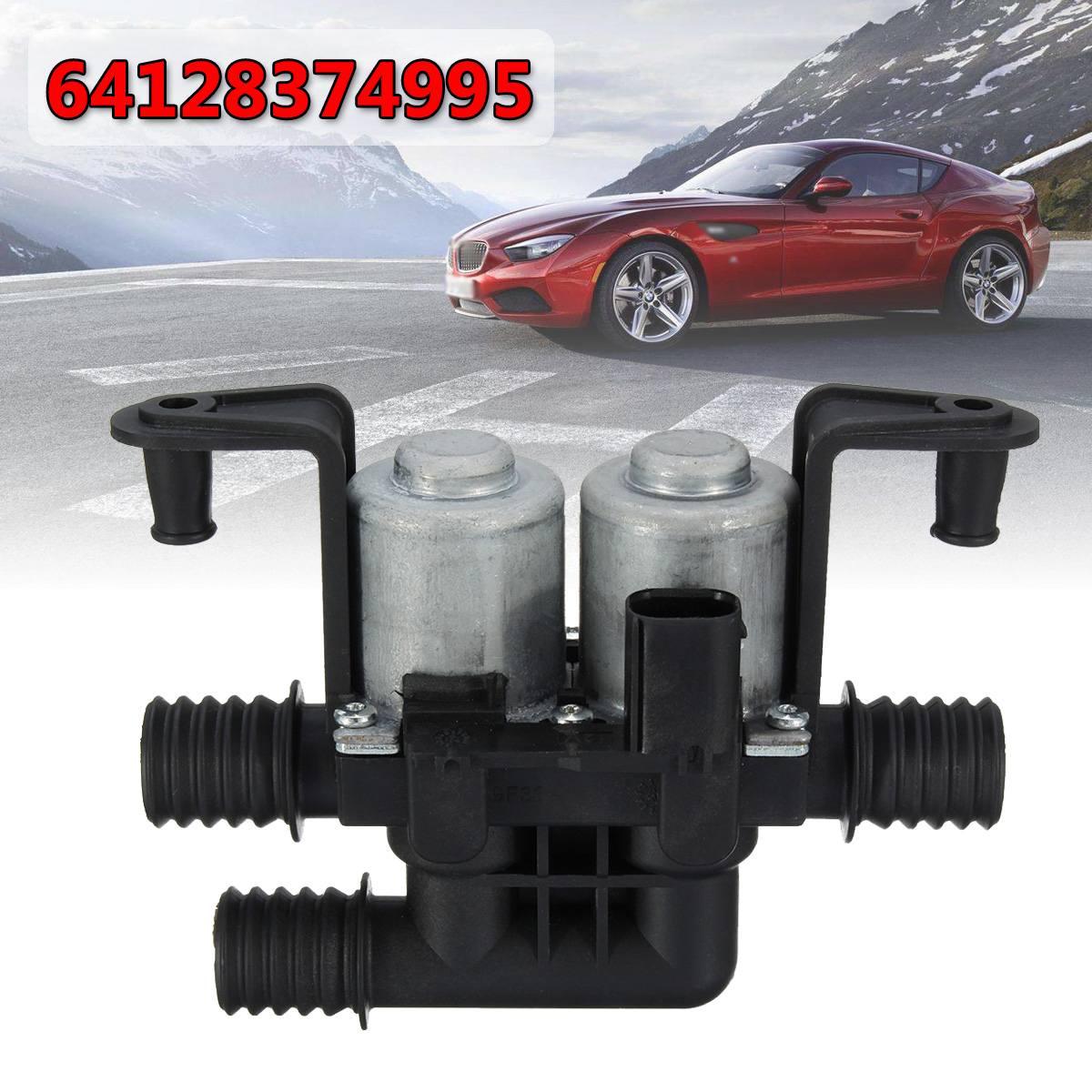 Vannes de commande de chauffe eau double solénoïde 64128374995 64 12 8 372 016 pour BMW série 5 E38 E39 E46 E53 X5|Vannes et pièces| |  -