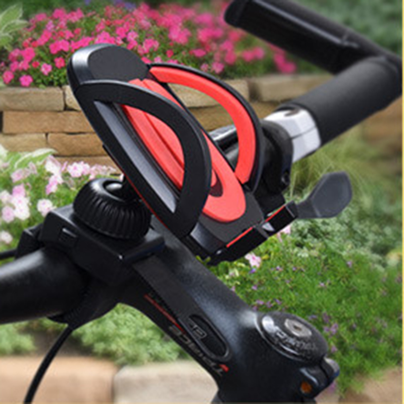 Universal Mobile Phone Bicycle Mount Holder Bike Handlebar Cell Phone Stand For IPhone 7 6s Samsung Xiaomi Mi 8 Honor Smartphone