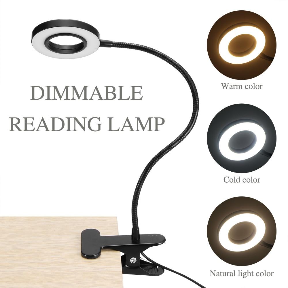 Mode Stijl Clip Tafellamp Ontwerp Usb Verstelbare Koud Wit Bureaulamp Voor Wenkbrauw Tattoo Nail Art Makeup Vissen Een Onmisbare Soevereine Remedie Voor Thuis