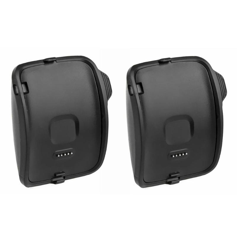 2PCS Portable Details About Black Plastic <font><b>Charging</b></font> <font><b>Dock</b></font> Cradle for <font><b>Samsung</b></font> Galaxy <font><b>Gear</b></font> <font><b>S</b></font> Smart Watch SM-R750 image