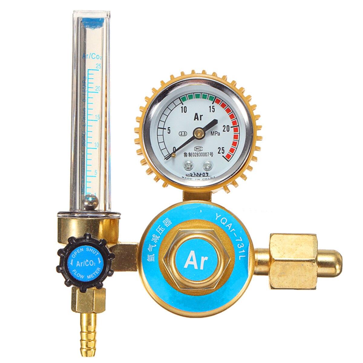 Argon CO2 Gas MIG TIG Welding Flow Meter Regulator Pressure Control Gauge