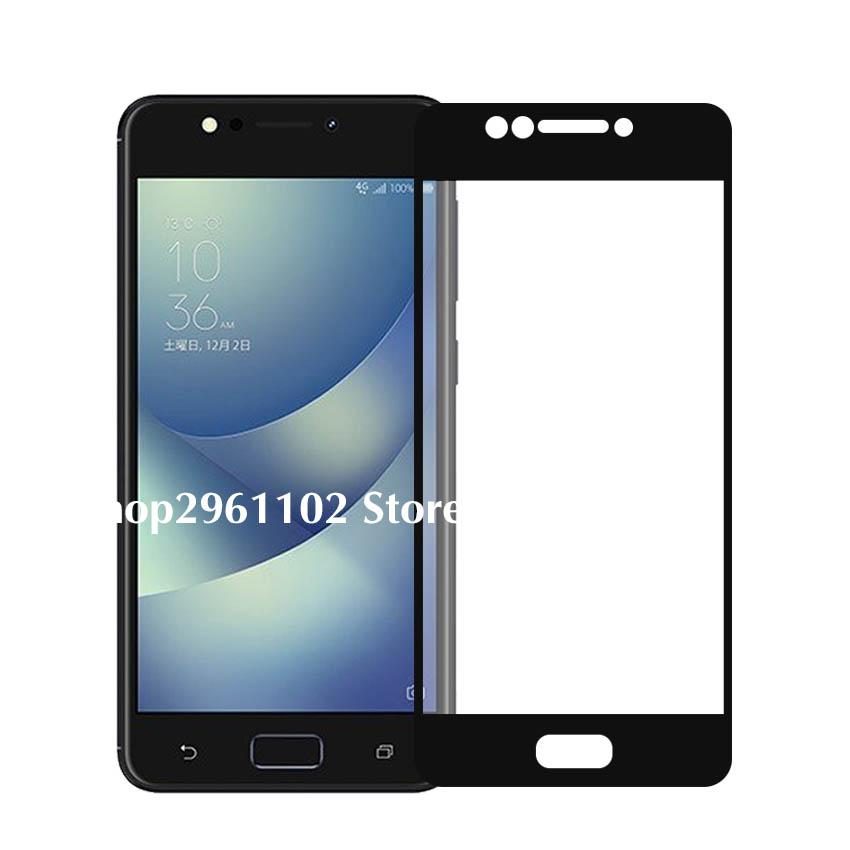 For Zenfone 4 Max Glass Screen Protector For Zenfone 4 Max ZC520KL Tempered Glass Case On 4max Zc520 Kl Zc 520kl Protective Film