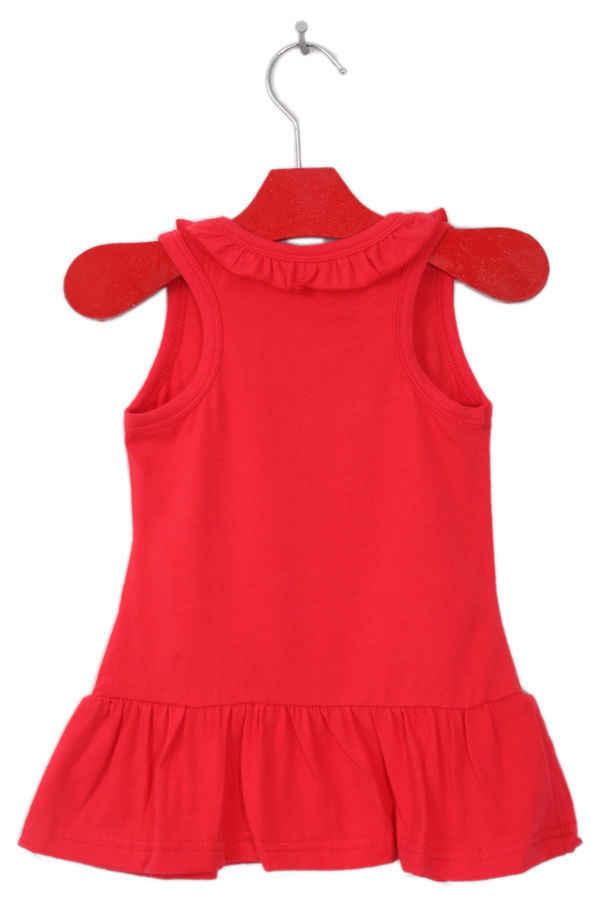 Pudcoco/платье для девочек; От 1 до 6 лет; детское платье с рисунком Минни Маус для маленьких девочек; сарафан; одежда; праздничные платья