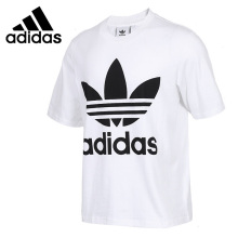Adidas Original New Arrival 2019 Summer Men's Skateboarding T-shirts Short Sleeve Breathable Comfortable Sportswear #CW1212 недорого