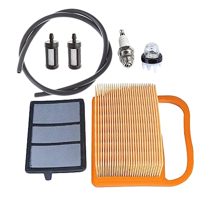 Air Filter With Primer Bulb Bulb Fuel Tune Up Kit For Stihl Concrete Cut Off Saw Ts410 Ts410Z Ts420 Ts420Z