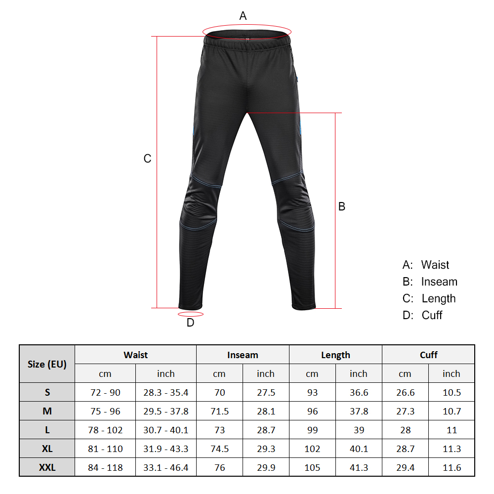 4a90a2064 Aliexpress.com : Buy Lixada Men's Waterproof Cycling Pants Thermal Fleece  Windproof Winter Bike Riding Running Sports Pants Trousers Bicicleta from  ...