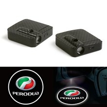 цена на Wired Led Car Logo Door Welcome Shadow Light for Pontiac Laser Projector (For Fits: perodua) 12V