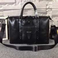 Brand Cowhide Men Bag Apparel Sewing Fabric Genuine Leather