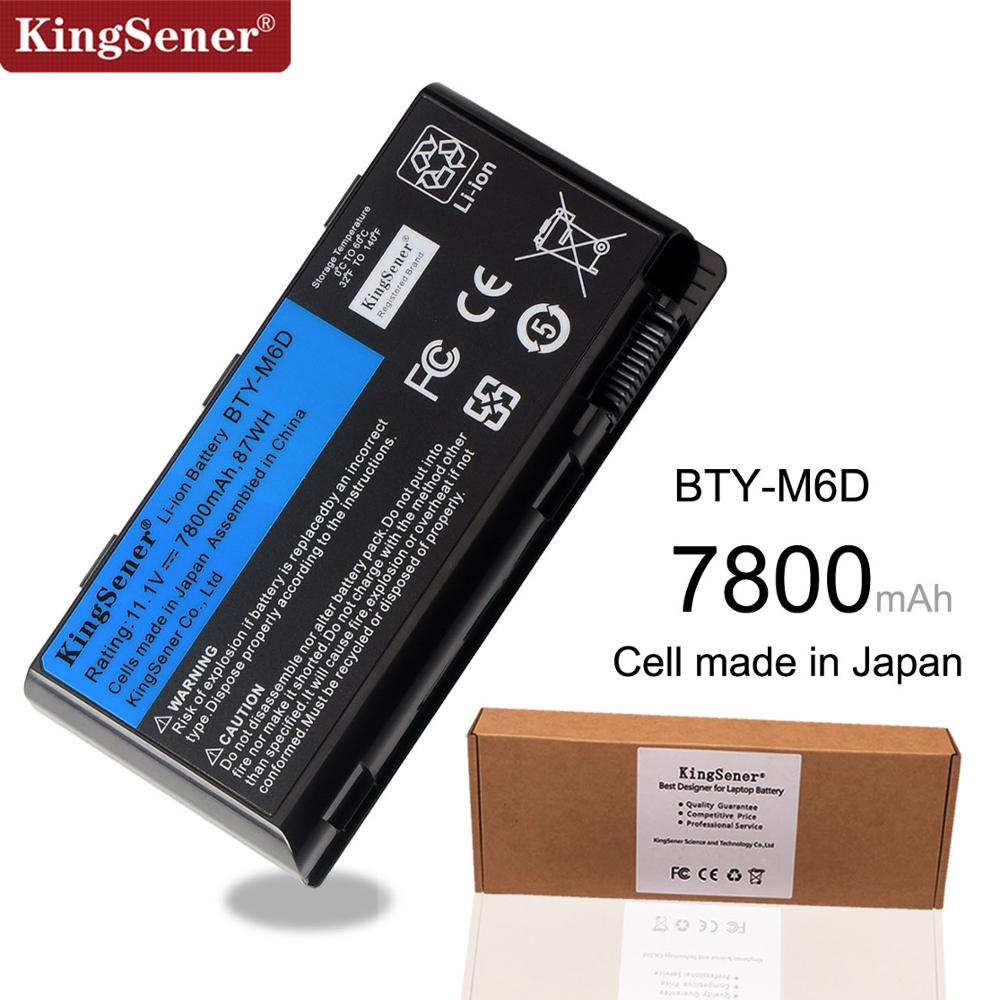 11.1V 7800mAh Baterie pro notebook BTY-M6D pro MSI GT60 GT70 GX780R GX680 GX780 GT780R GT660R GT663R GX660 GT680R GT783R 9CELLS