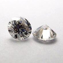 лучшая цена 8.5mm DEF Round VVS Moissanite Moissanite Stone Loose Moissanite Diamond 2.5  carat for Wedding Ring