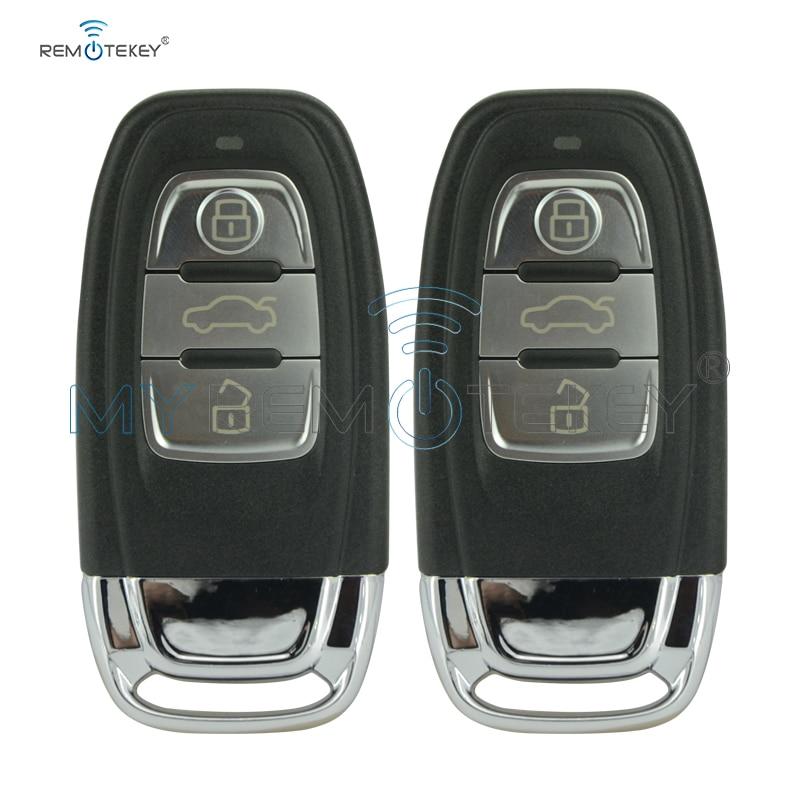Remtekey 2pcs Smart Car Key 3 Button 434Mhz 8T0959754C for Audi A4 A6 Q5 SQ5 remtekey