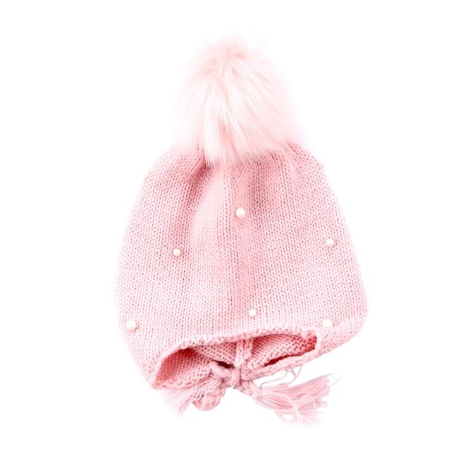 01b0ee9314d Toddler Kids Girl Boy Baby Infant Winter Warm Crochet Knit Pom Hat Beanie  Cap Baby Girl Hat 0-9T