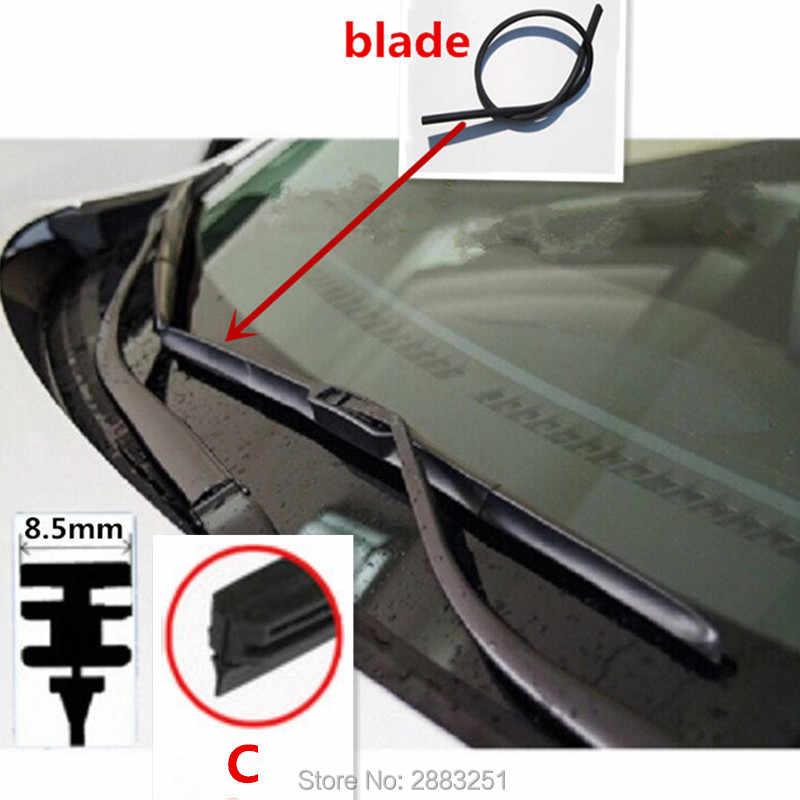Free Shipping Car Wiper Blade Insert Rubber Strip Refill For Mazda 3 6 2 5 8 Cx5 Cx3 Cx7 Cx 3 Cx 7 Cx 5 Mx 5 Car Accessories
