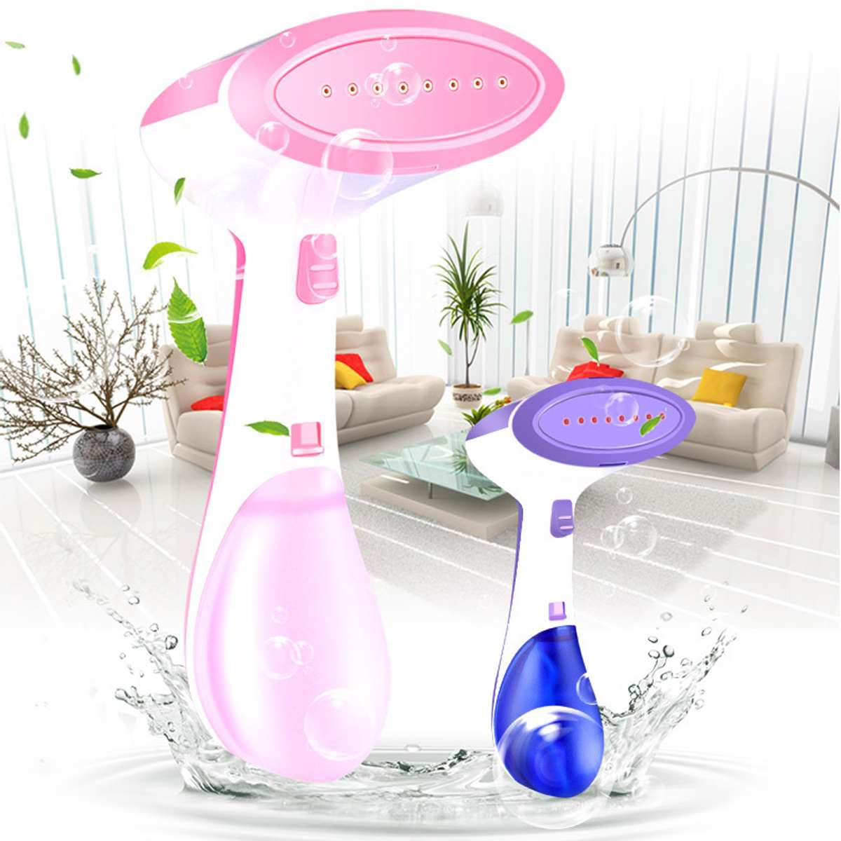 New 1400W Travel Handheld Clothes Steamer Powerful Garment Steamer Household Appliances Home Handheld Electric Steam Iron