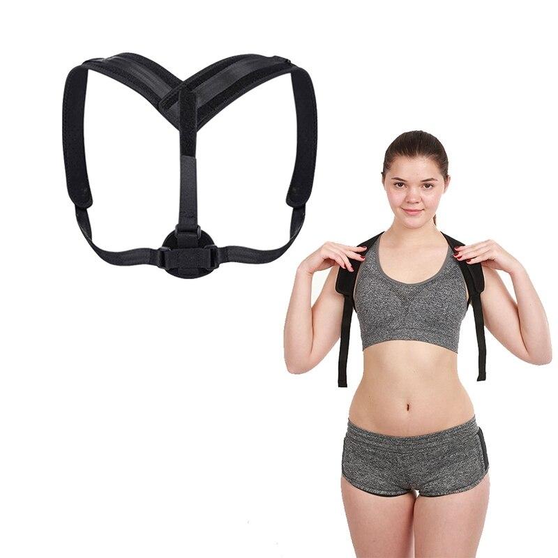 Magnetic Therapy Adjustable Posture Corrector Men Women Shoulder Back Brace Posture Corrector Lumbar Brace Belt Shoulder Posture