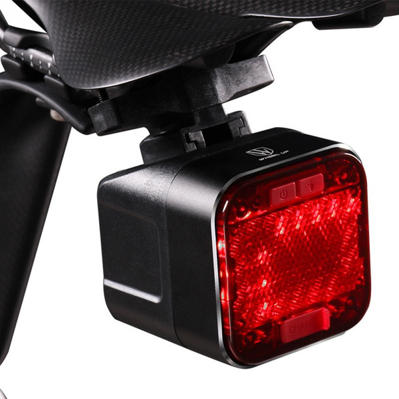 Bikes Lights USB Charging Rear Lamp Bicycle Taillight Safety Warning With Bluetooth Speaker Bicycle Accessories High Quality 35