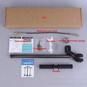 Image 4 - ارتفاع ضغط 30Mpa مضخة هواء صغيرة 3 مرحلة سيارة تعمل باليد ضاغط الهواء نافخة الصيد كرات الطلاء PCP مضخة 300bar