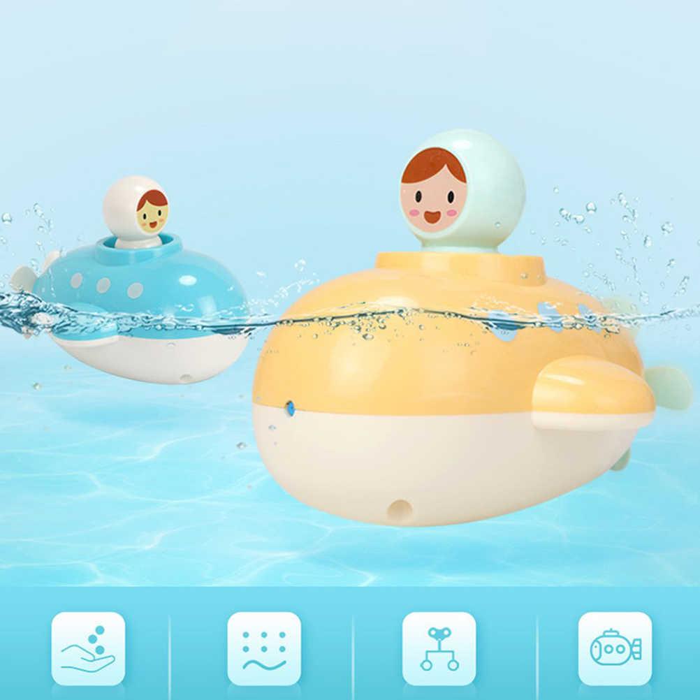 Детская подводная лодка, игрушка для ванны, мягкие игрушки для полива, Ранняя Заводной механизм обучающая поплавок, подводная игрушка для малышей, детские игрушки, подарок