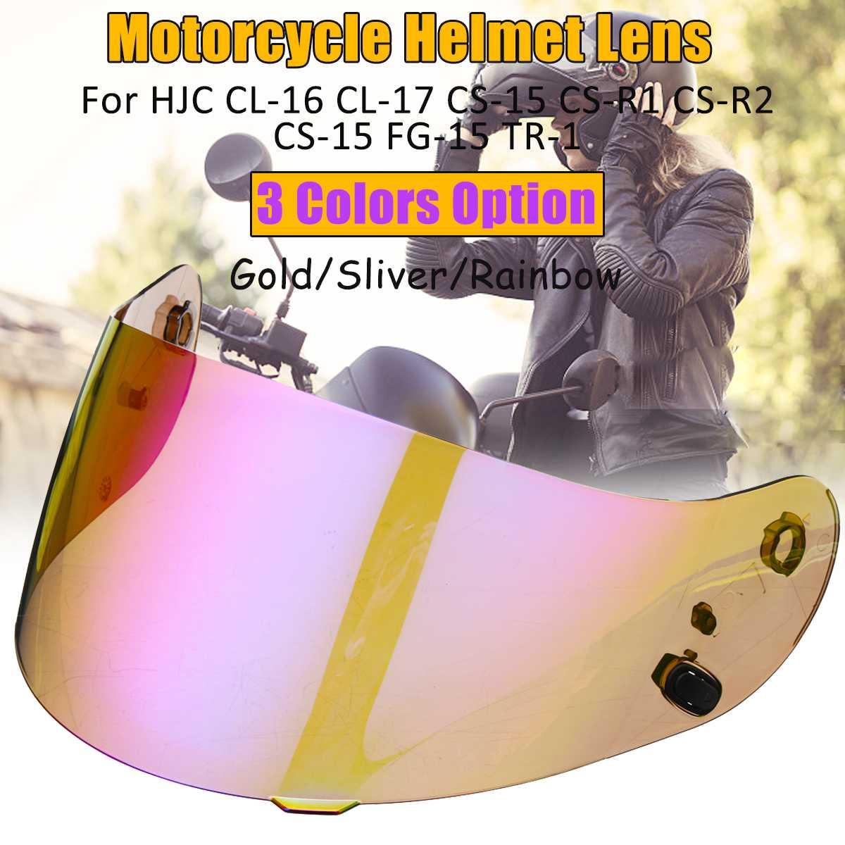 Back To Search Resultsautomobiles & Motorcycles Motorcycle Helmet Visor For Hjc Cl-16 Cl-17 Cs-15 Cs-r1 Cs-r2 Cs-15 Fg-15 Tr-1 Shield Parts Original Glasses Motorbike Lens