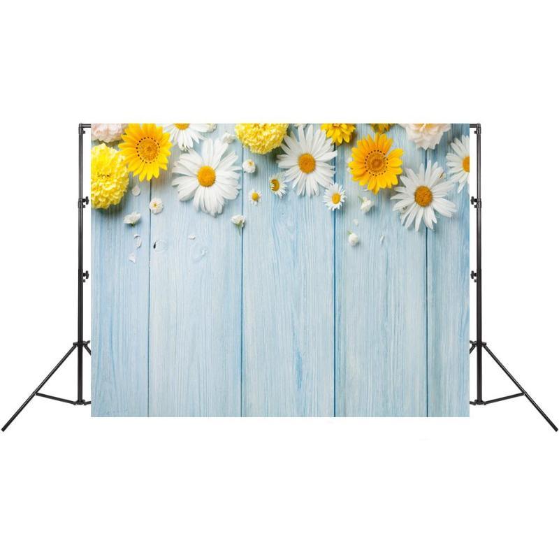 Photo Background Flowers Waterproof Studio Video Photography Backdrop Decor L/&6