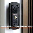 Ysecu видео дверной звонок домой видео домофон телефон 7 дюймовый монитор 1200TVL дверной звонок Камера 32G карта памяти видео домофон комплект - 5