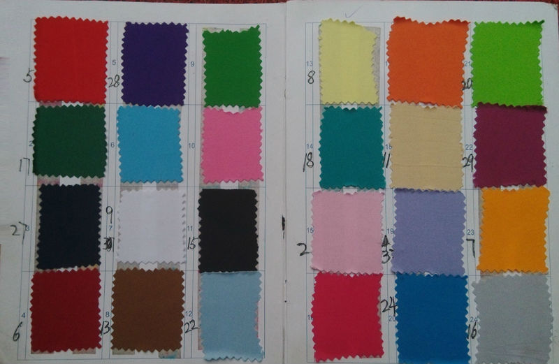 Jersey Color Chart 1