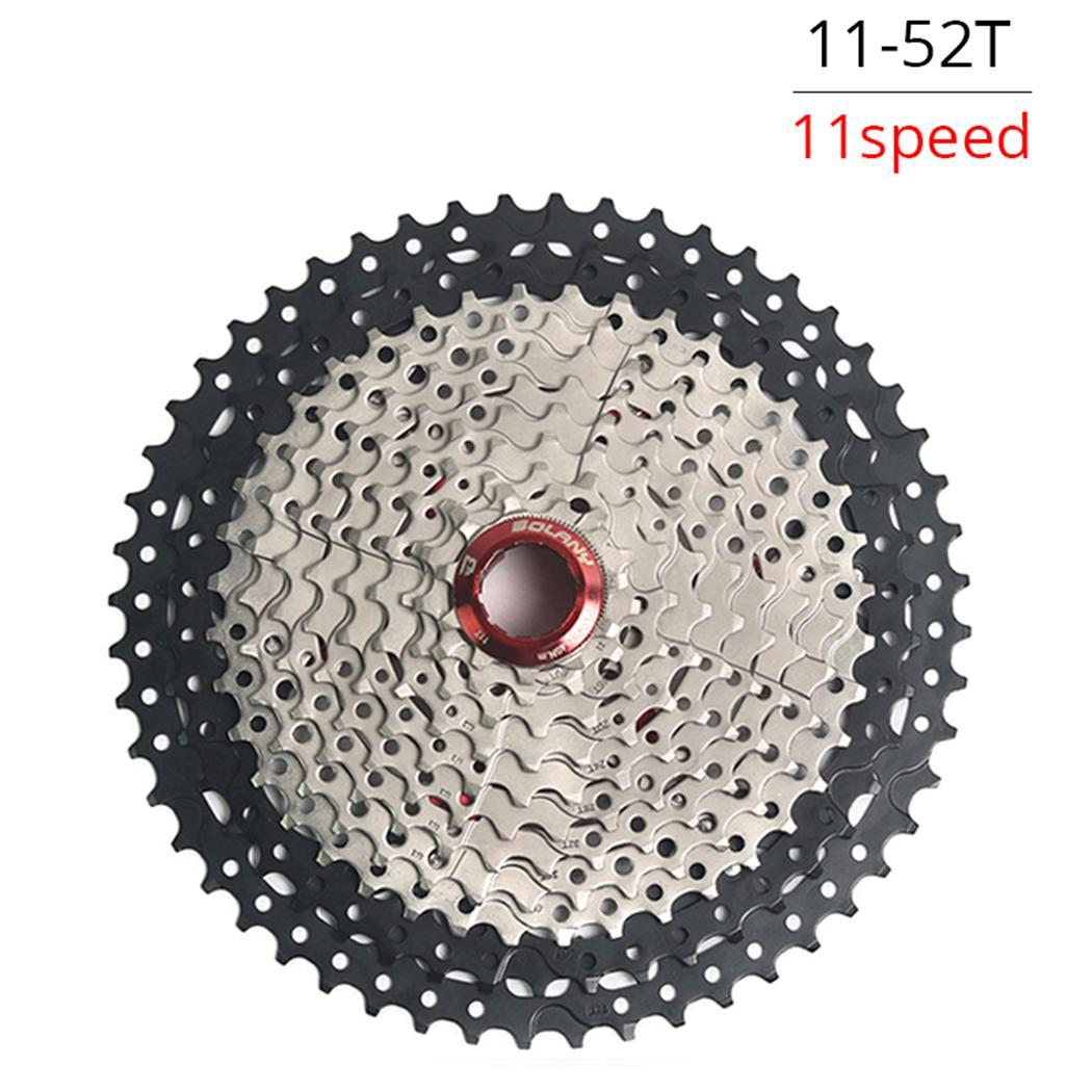 11 Speed Mountain Bike MTB Bicycle Freewheel 11-52T Suitable for travel and outdoor use. Fashion Accessories11 Speed Mountain Bike MTB Bicycle Freewheel 11-52T Suitable for travel and outdoor use. Fashion Accessories