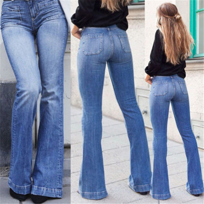 Girls Slim Bootcut Jeans