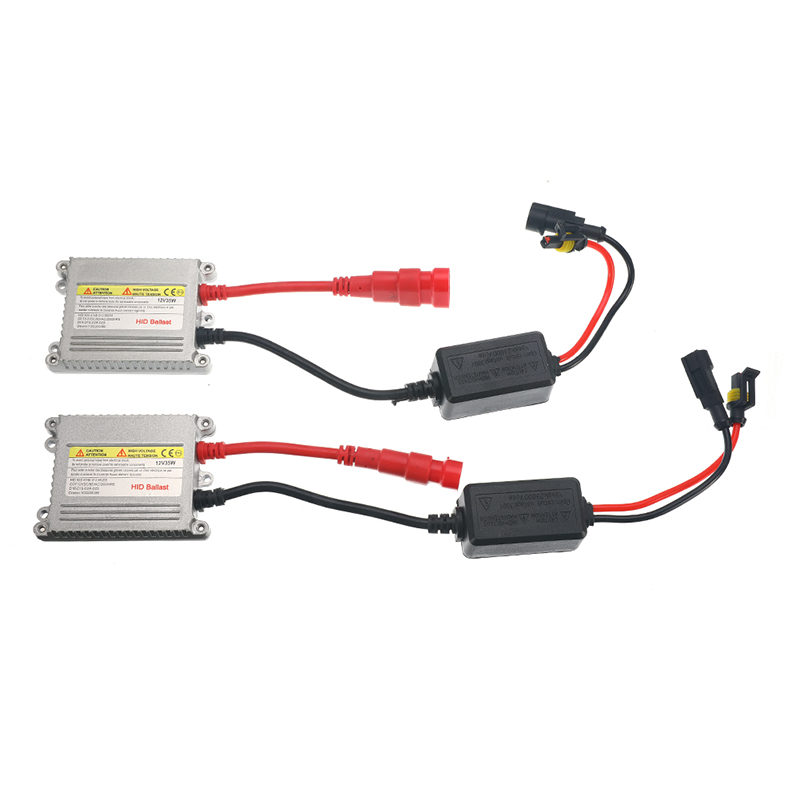 Slimline Ballast Wiring Diagram: 2Pcs DC 12V Digital Slim HID Ballast Blocks 35W Ignition
