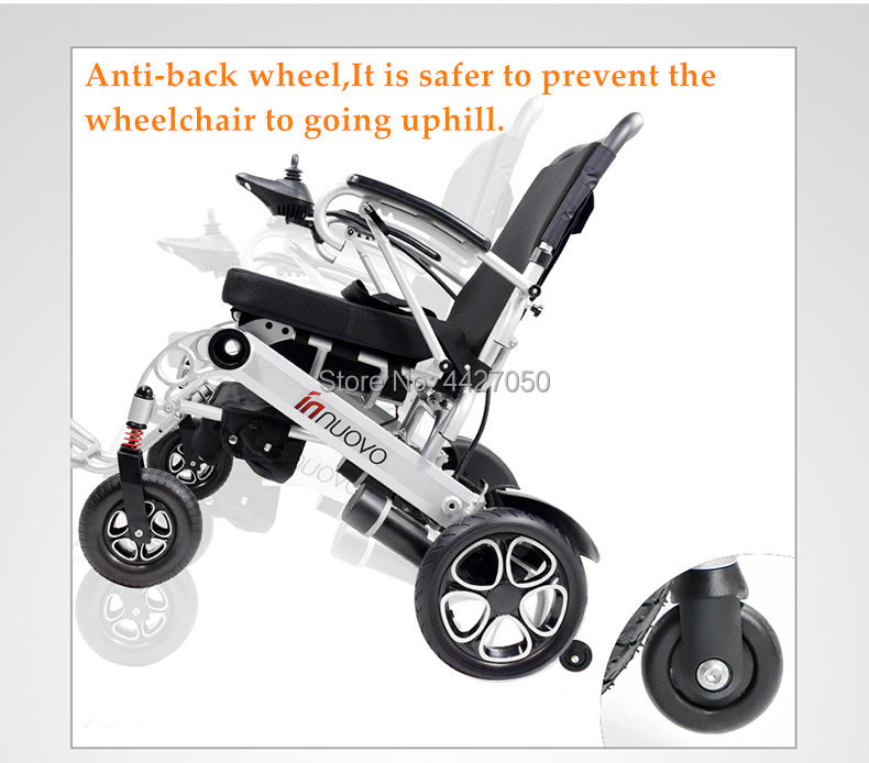 2019  Free shipping  Best selling fashion foldable extra wide seat electric wheelchair 1