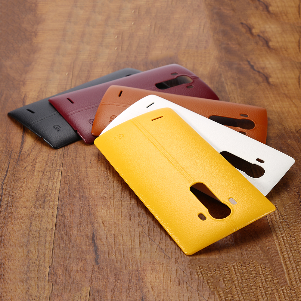 Battery Back Cover Housing Case Door Rear Cover+NFC With NFC Replacement For LG G4 H815 H810 LS991 US991 VS986 F500 Housing Case