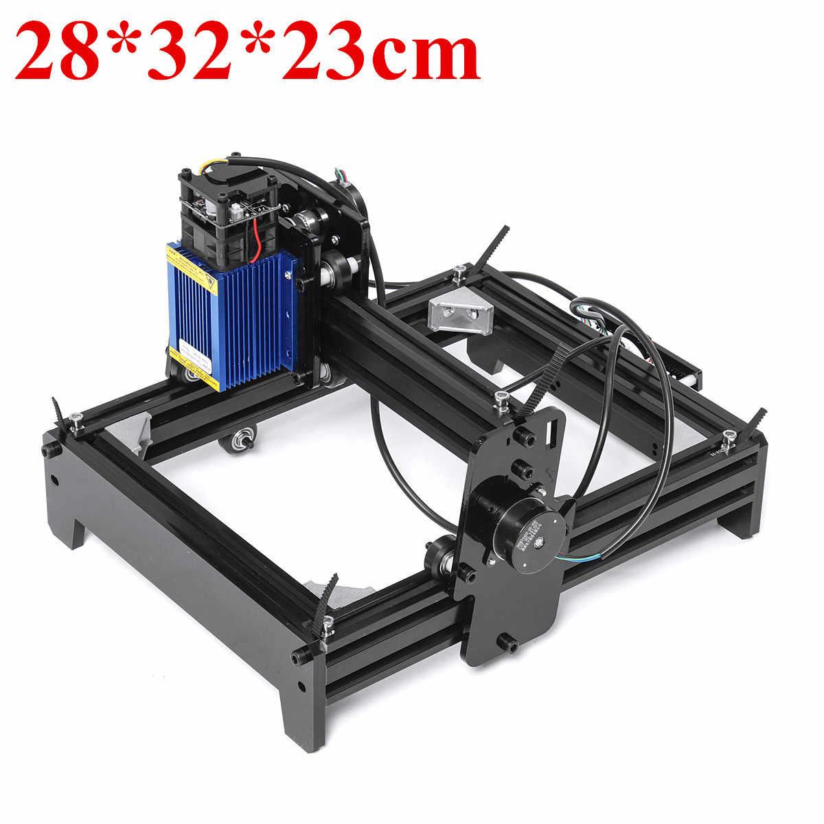 10 W/12 W/15 W 15000 MW Laser Presisi Tinggi Mesin Ukiran Kayu Logam Menandai Engraving Rumah logo Logo Printer Cutter Router Kayu