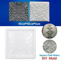 40*40cm Path Maker Reusable Paving Mold DIY Concrete Cement Brick Stone Pavement Walk Mould Tool For Garden Decor