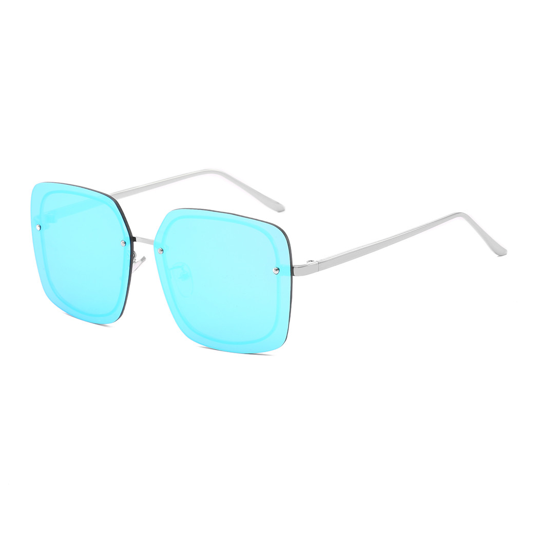 2019 Rimless Sunglasses Women Men Fashion Brand Designer