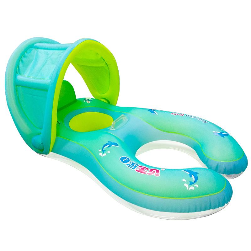 Self-tour Baby Baby Swimming Ring Ring Seat Inflatable Baby Parent-child Interactive Swimming Ring Inflatable Swimming Ring