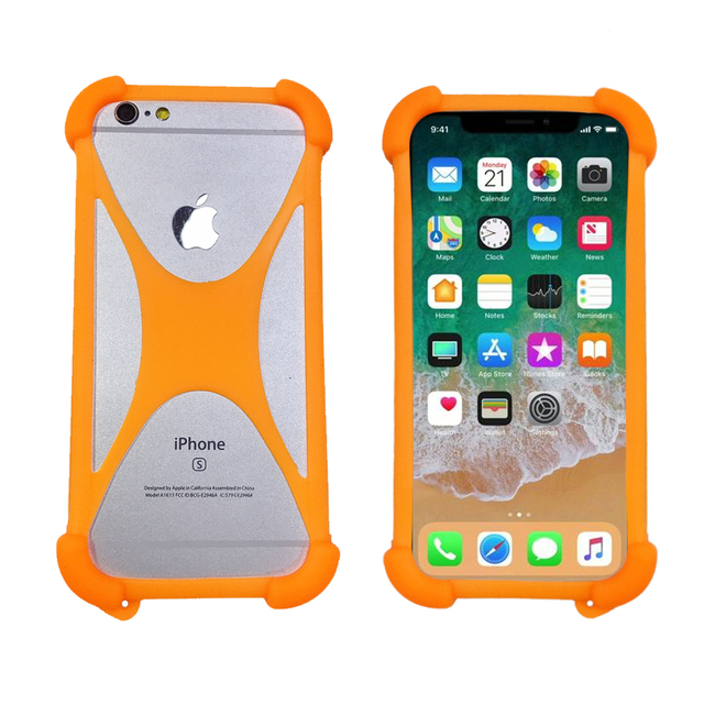 buy online c620c 45eeb For BLU Studio 5.0 C HD D530a LTE / 5.0S D570i D560i Soft Cell Phone Case  Universal Silicone Bumper Back Skin Cover Case On Hand