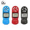 ZEAST KT-300 Multiuso Mini Anemômetro Digital Anemômetro Velocidade Do Vento LCD Temperatura Umidade 3 em 1 Medidor de Velocidade do Vento
