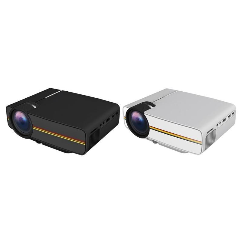 YG410 Mini Portable Projector 1080P 1000Lumen Sync Wired Display Theater US PlugYG410 Mini Portable Projector 1080P 1000Lumen Sync Wired Display Theater US Plug